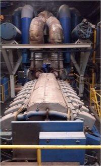 6300 KW Wartsila 18V32 GD Gas & Diesel Generator Plant