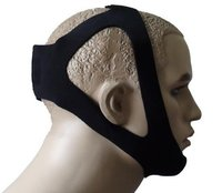 JERN Black Adjustable Anti Snoring Chin Strap