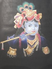 Krishna Oil Painting
