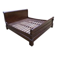 Sleigh Design King Size Bed