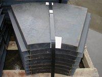 Steel Metal Back Rubber Liner