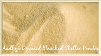 Dewaxed Bleached Shellac Powder
