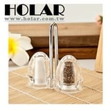 Dining Table Salt And Pepper Shaker Set With Actylic