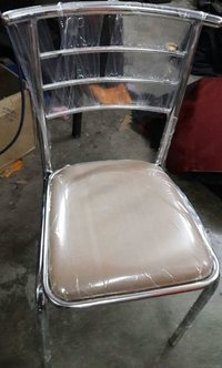 Stainless Steel Back Cafeteria Chairs