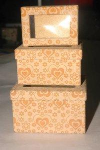 Kraft Paper Gift Boxes