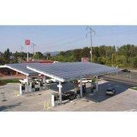 Solar Powered Petrol Pumps