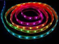 Digital Rgb Led Weatherproof Strip Light Lpd8806 32