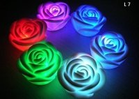Led Colour Changing Rose Flower Light