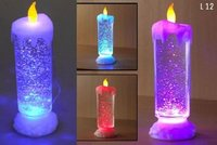 Led Water Sparkle Candle