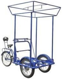 Ice Cream Tricycle Cart (Blue Color)