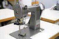 Knitting Glove Leather Palm Sewing Machine