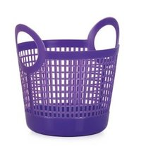 Plastic Blue Shopping Baskets