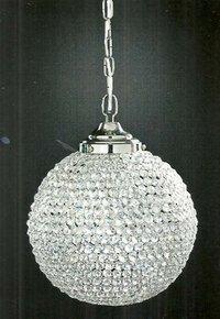 Hanging Crystal Bowl