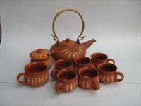 Inlay Tea Set