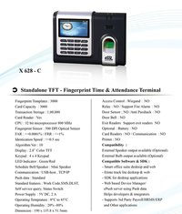 Biometric Fingerprint Time And Attendance System