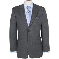 Grey Twill Weave Two Button Single Brest Mens Blazer