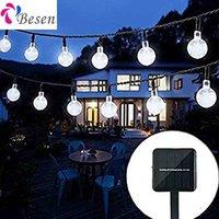 Solar String Fairy Garden Outdoor Lights