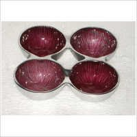 Aluminium Metal Fruit Bowl
