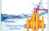 Ptfe Line Type Ball Valve in Nagpur