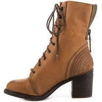 High Ankle Ladies Leather Shoes
