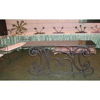 Highly Durable Forged Wrought Iron Furniture