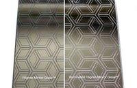 Filigree Mirror Glass (AP Intercrossing Pattern)