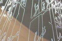 Filigree Mirror Glass (GLAZZ Bamboo Pattern)
