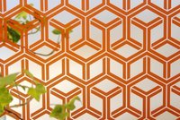 Sandblasted And Back Orange Painted (AP Intercrossing)