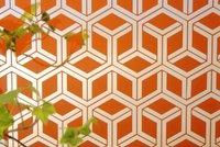 Sandblasted And Back Orange Painted Ap Intercrossing