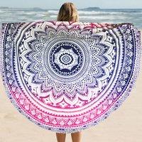 Mandala Tapestry Beach Towel