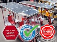 Precise Solar Rickshaw
