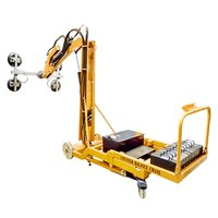 Powered Counterbalance Crane With Vacuum Lifter