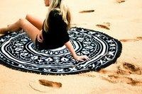 Bohemian Circle Beach Towel