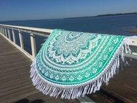 Round Beach Throw Sheets