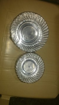 Disposable Silver Coated Paper Plates