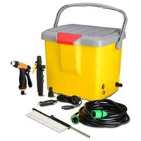 Portable Car Washer with Air Compressor
