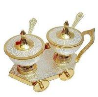 Brass Gift Supari Set