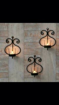 Decorative Iron Candle Stand