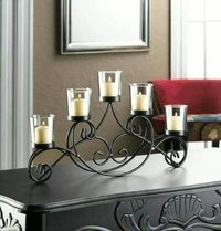 Decorative Iron Candle Stands