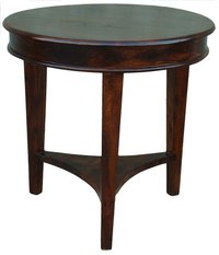 Wooden Coffee Round Table