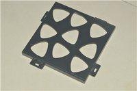 Perforated Black Asp/Aluminum Solid Panel