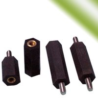 Hex Spacers Molded With Inserts - Heavy Duty