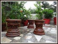 Terracotta Garden Stools