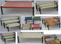 Rope Bed (Wooden Charpai)