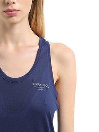 Nike Gyakusou Undercover Lab Nikelab Dri-Fit Running Tank Top Blue Women Clothing Tops