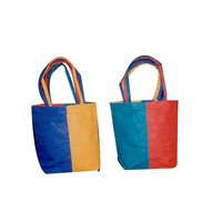 Colored Jute Bag