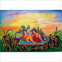 God Radha Krishna Painting
