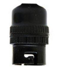 Pendant Black Plastic Bulb Holder