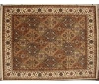 Hand Knotted Woollen Carpet # 1024