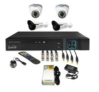 4 Ahd 1.3 Mp Cctv Cameras Complete Package